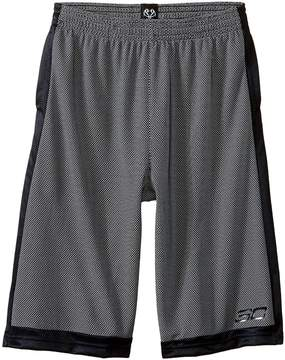 Under Armour Kids Steph Curry 30 Top Gun Shorts Boy's Shorts