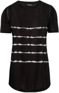 Balmain Tie-dye linen T-shirt