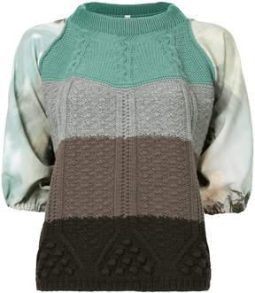 Antonio Marras striped knit top