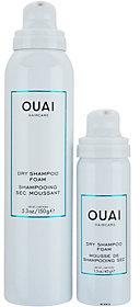 Ouai Dry Shampoo Foam with Travel Foam