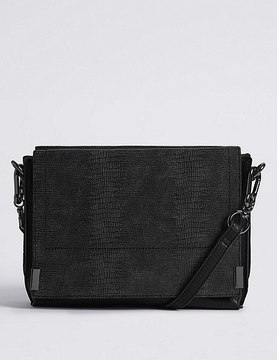 Marks and Spencer 3 Part Compartment Cross Body Bag