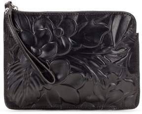 Patricia Nash Floral Debossed Collection Cassini Wristlet