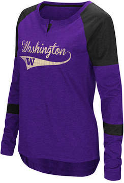 Colosseum Women's Washington Huskies Routine Long Sleeve T-Shirt