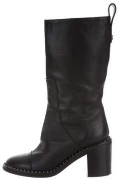 Zadig & Voltaire Embellished Mid-Calf Boots