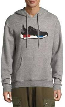 Mostly Heard Rarely Seen Sneakers Graphic Cotton Hoodie