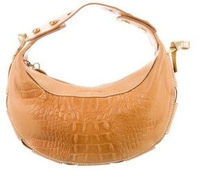 Roberto Cavalli Embossed Leather Bag