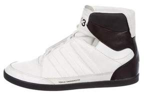 Y-3 Honja High Leather Sneakers