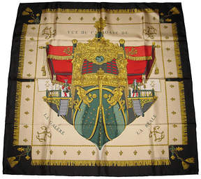 One Kings Lane Vintage HermAs La Reale Scarf with Box - The Emporium Ltd.