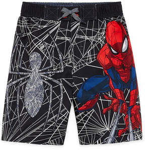 Spiderman LICENSED PROPERTIES Swim Trunks - Preschool Boys 4-7