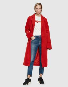 Which We Want Rosa Coat in Scarlet