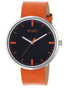 Simplify The 4500 Collection SIM4503 Silver Analog Watch