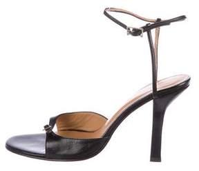 Max Mara Leather Multistrap Sandals