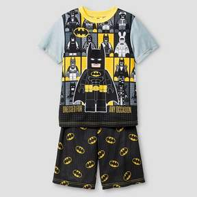 Lego Boys' Pajama Set Gray Batman
