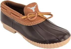 NCAA Women's Texas Longhorns Low Duck Step-In Shoes