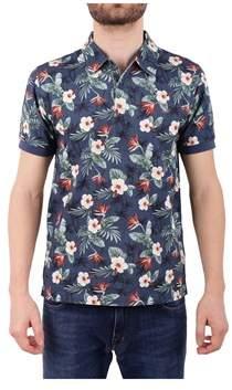 Sun 68 Men's Multicolor Cotton Polo Shirt.