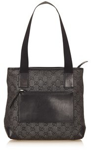 Gucci Pre-owned: Guccissima Jacquard Shoulder Bag. - BLACK - STYLE
