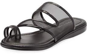 Donald J Pliner Best Casual Mesh Flat Slide Sandal