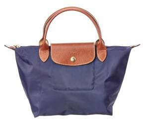 Longchamp Le Pliage Small Nylon Top Handle. - NAVY - STYLE