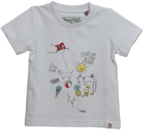 Sovereign Code Skip Day Short-Sleeve Tee, White, Size 12-24 Months