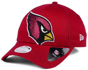 New Era Women's Arizona Cardinals Glitter Glam 9TWENTY Strapback Cap