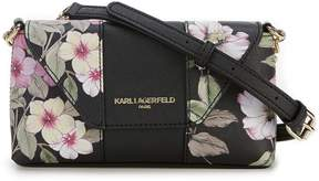 Karl Lagerfeld Paris Paris Printed Cross-Body Bag