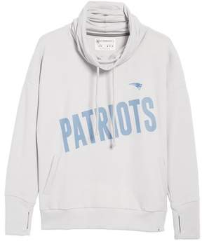 '47 Women's New England Patriots Funnel Neck Pullover