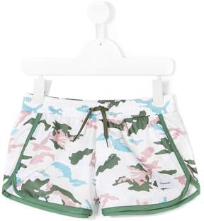 Dondup Kids camouflage shorts