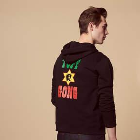 Sandro Tuff Gong flocked sweatshirt