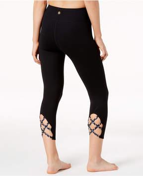 Gaiam Stella Strappy Capri Leggings