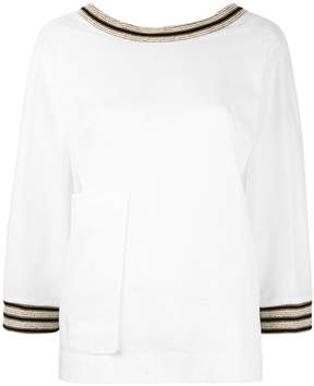 Ballantyne embroidered blouse