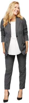 A Pea in the Pod Secret Fit Belly Pinstripe Maternity Suiting Pants