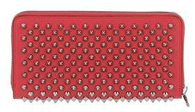 Christian Louboutin Women's Red Leather Wallet.