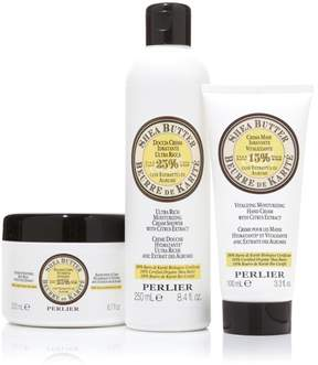 Perlier Shea Citrus 3-piece Bath & Body Set