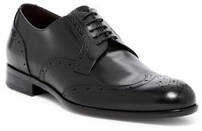 HUGO BOSS Perforated Leather Lace-Up Oxfords