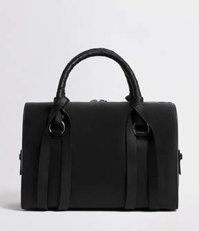 AllSaints Voltaire Leather Bowling Bag