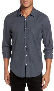 Billy Reid Men's Kirby Slim Fit Check Sport Shirt