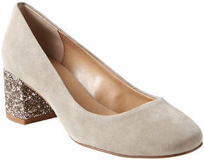 Banana Republic Mid Block-Heel Glitter Pump