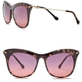Elizabeth and James Fairfax 53mm Acetate & Metal Cat Eye Sunglasses