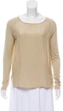 Brochu Walker Long Sleeve Silk Top