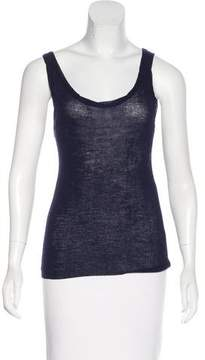 Creatures of Comfort Sleeveless Wool Knit Top