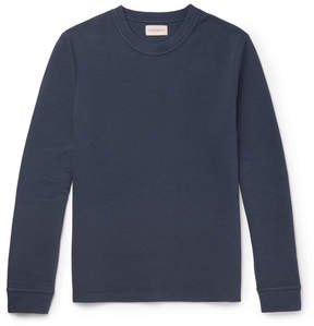 Oliver Spencer Berwick Ribbed Stretch-Cotton Sweatshirt