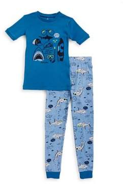 Petit Lem Little Boy's Two-Piece Printed Tee and Pants Set
