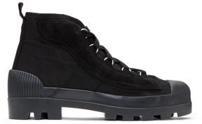 Acne Studios Black Daniel Boots