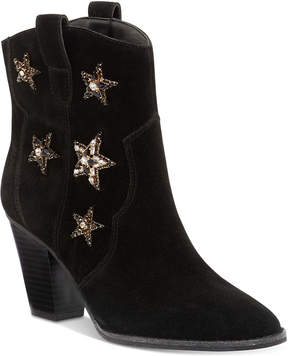 INC International Concepts Anna Sui x Dazzlerr Western Ankle Booties, Created for Macy's Women's Shoes