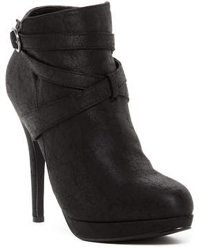 Michael Antonio Peeps Stiletto Ankle Boot