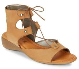 The Flexx Band On The Run Lace-Up Leather Sandals