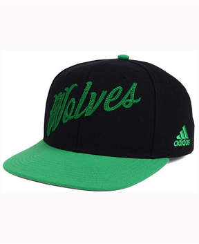 adidas Minnesota Timberwolves Seasons Greeting Snapback Cap