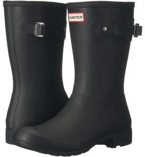 Hunter Original Tour Short Packable Rain Boots Women's Shoes