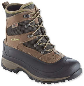 L.L. Bean Women's Waterproof Wildcat Boots, Insulated Lace-Up