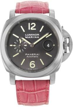 Panerai Luminor Marina PAM00104 Stainless Steel Automatic 44mm Mens Watch